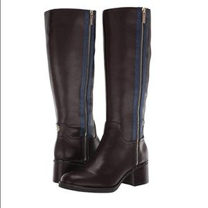 TOMMY HILFIGER Charlei Brown Riding Boots 6.5 NEW